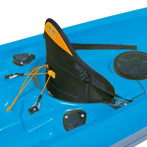 sit-on-top kayak seat with backrest