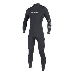 Dive Titanium Full Suit FrontZip 2.5MM Flatlock Gul Size S