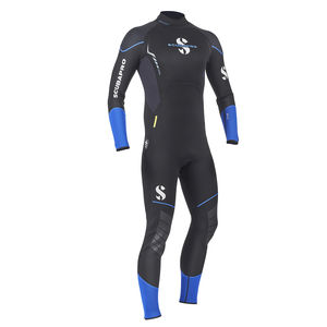 dive wetsuit / long-sleeve / one-piece / 2.5 mm