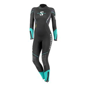 dive wetsuit / long-sleeve / one-piece / 5 mm