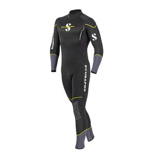 dive wetsuit / long-sleeve / one-piece / 3 mm