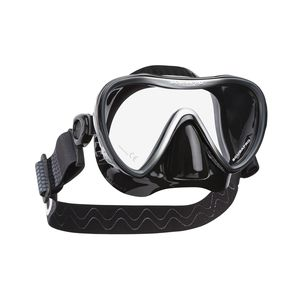 single-pane dive mask