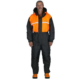 professional fishing drysuit / long-sleeve / one-piece / hooded