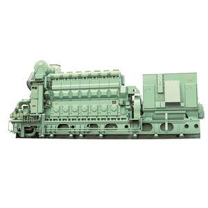 ship generator set / diesel / medium-speed