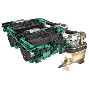 IPS-drive engine / boating / diesel / direct fuel injection