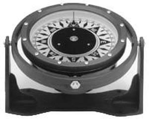 boat steering compass / magnetic / horizontal / with mounting bracket