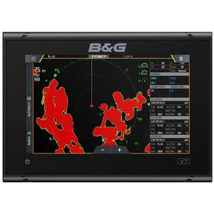 chart plotter / GPS / for racing sailboats / color