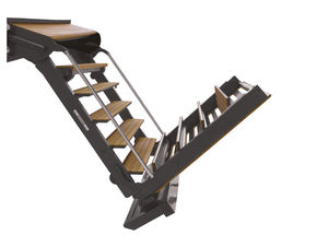yacht ladder / folding / retractable / boarding