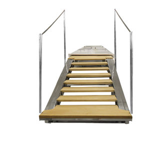 Ladder With Handrails All Boating And Marine Industry Manufacturers