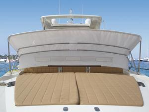 boat Bimini top / cockpit / stainless steel frame