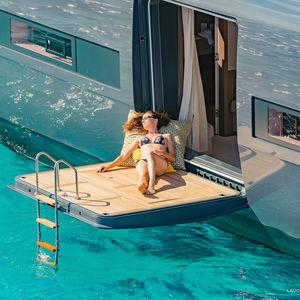 yacht balcony