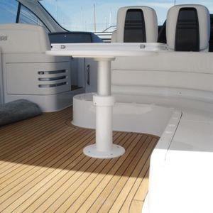 telescopic boat table pedestal