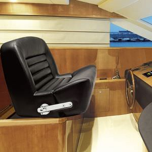 helm seat / for boats / with armrests / 2-person