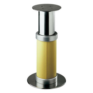 adjustable boat table pedestal / electric / stainless steel