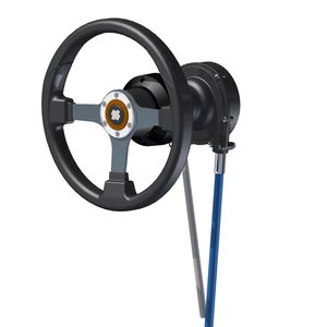 power boat steering / mechanical / articulated