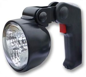 search floodlight / for boats / LED / portable