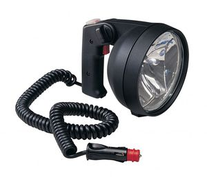 search floodlight / for boats / halogen / portable