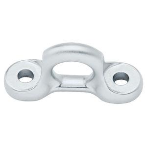 fixed pad eye for sailboats / semicircular / stay
