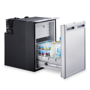 boat refrigerator / built-in / compressor / stainless steel