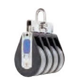 plain bearing block / quadruple / with fixed head / max. rope ø 14 mm