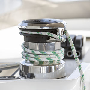 electric sailboat winch / 3-speed / stainless steel / aluminium