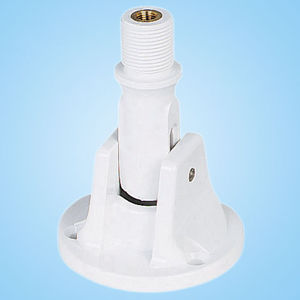 MARINE BOAT ABS PLASTIC RATCHET MOUNT ANTENNA BASE WITH STAINLESS STEEL BOLTS