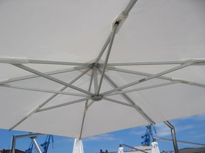 motor yacht umbrella