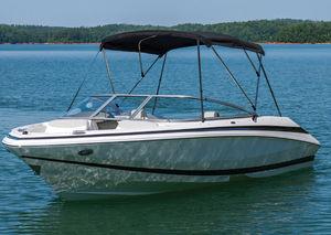 power boat Bimini top / cockpit / aluminum frame
