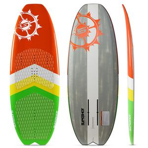 kiteboard with foil