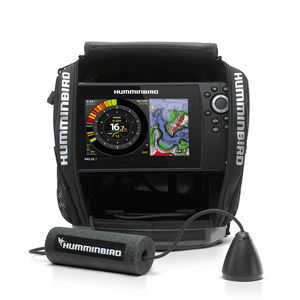marine fish finder / CHIRP / HD / portable
