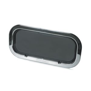 rectangular portlight / for boats / opening / with rounded corners