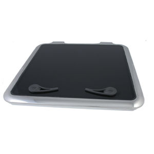 boat deck hatch / square / opening / with rounded corners
