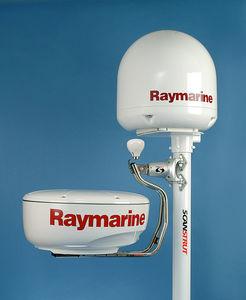 radar antenna mount / aluminum / self-leveling