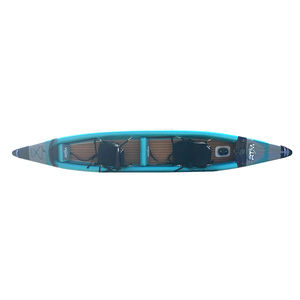 sit-on-top kayak / inflatable / sea / two-seater