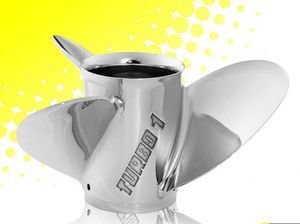 boat propeller / variable-pitch / outboard and sterndrive / 3-blade