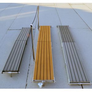 ship gangway / for yachts / for barges / folding