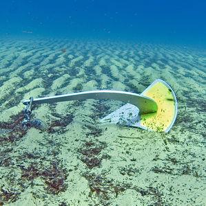 spade type anchor