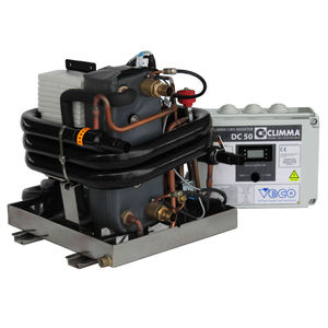 boat combined heater-air conditioner