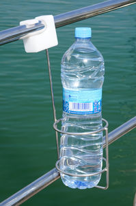 plastic boat cup holder / stainless steel