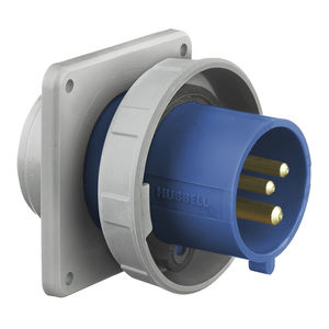 dock watertight electrical plug / male