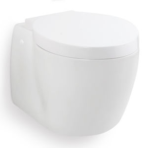 marine toilet / with macerator / wall-mounted / hanging