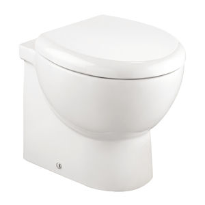 marine toilet / gravity flush / ceramic