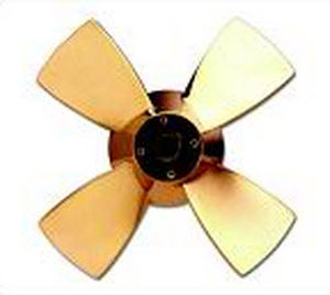 ship propeller / fixed-pitch / lateral thruster / 4-blade