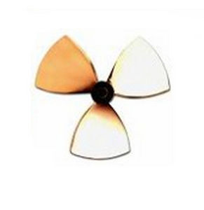 boat propeller / fixed-pitch / lateral thruster / 5-blade