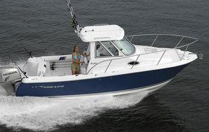 outboard cabin cruiser / hard-top / dive / sport-fishing