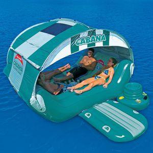 floating hut