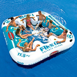 8-person floating sofa