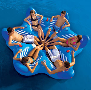 6-person floating sofa