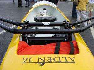 recreational rowing boat / touring / single scull