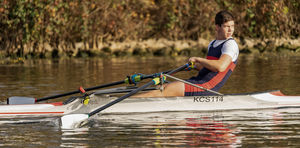 racing rowing boat / single scull